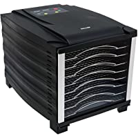 BioChef Arizona 8 Tray Food Dehydrator with Stainless Steel Trays, 2 x Non Stick Sheets, 2 x Mesh Sheets & 1 Drip Tray…