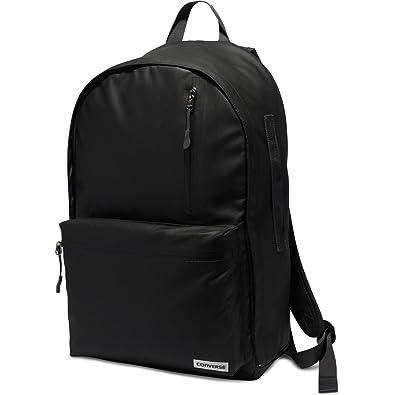 a52e05c42f53 Converse Rubber 22L Backpack - Black  Amazon.co.uk  Shoes   Bags