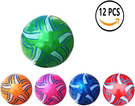 12 Pcs Juguete De Pelota De Playa De Balon 22CM (estrella de mar ...
