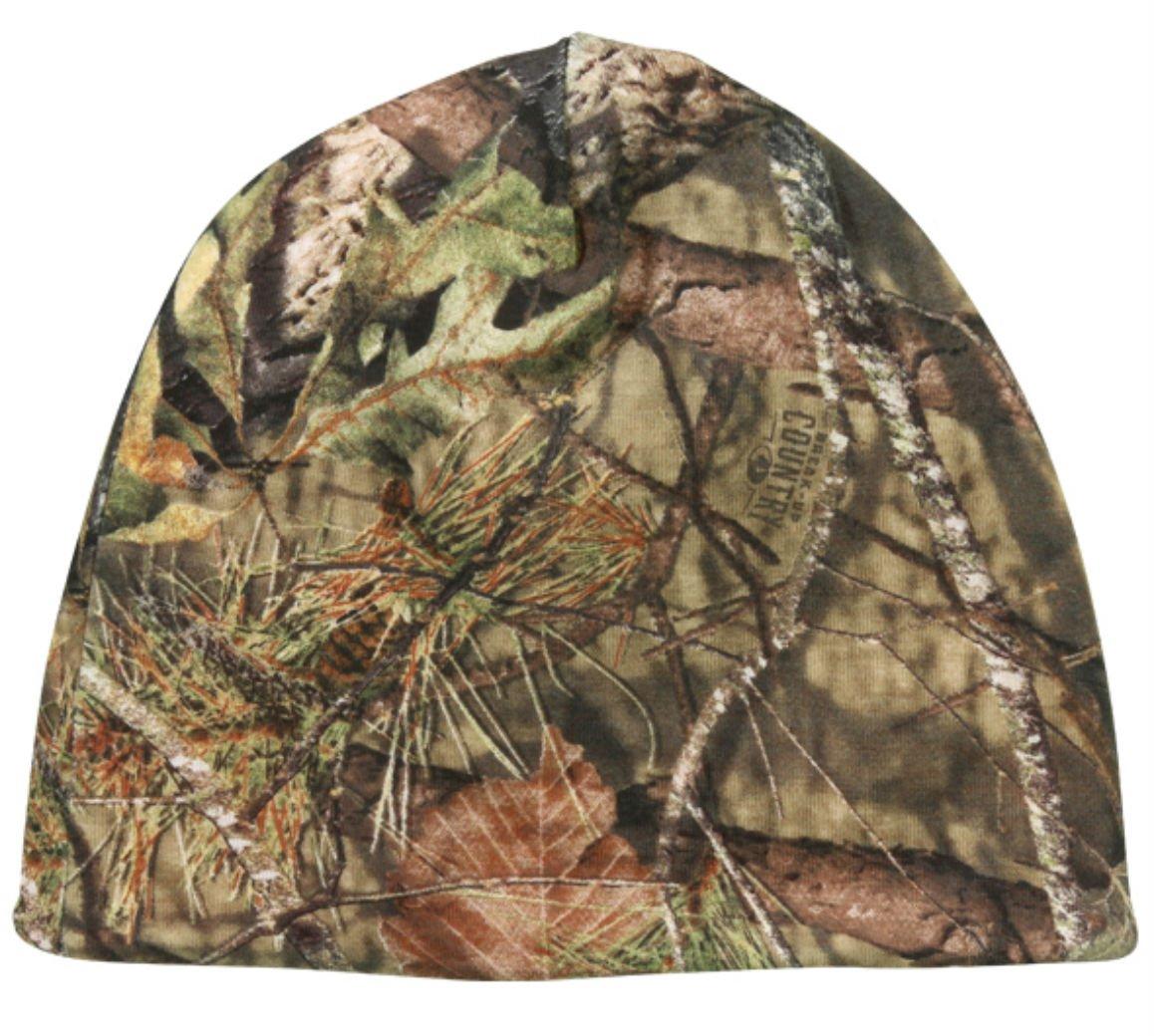 Amazon.com   Mossy Oak Country Reversible Blaze Orange   Camo Hunting Knit  Beanie   Sports   Outdoors 08aea35b93c8