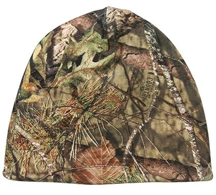 4ecf081d5b409 Amazon.com   Mossy Oak Country Reversible Blaze Orange   Camo Hunting Knit  Beanie   Sports   Outdoors