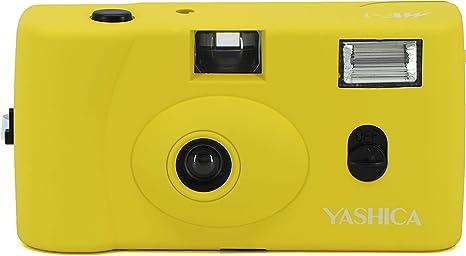 Yashica Mf 1 Gelb Snapshot 35 Mm Kleinbild Kamera Set Kamera
