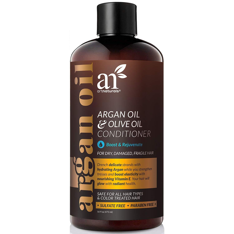 ArtNaturals Argan Hair Growth Conditioner - (16 Fl Oz / 473ml) - Sulfate Free - Treatment for Hair Loss, Thinning & Regrowth - Men & Women - Infused with Biotin, Argan Oil, Keratin, Caffeine