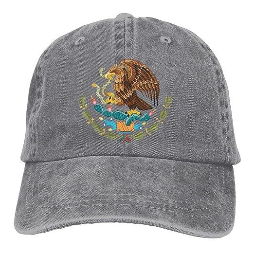 Mexico Flag Unisex Fashion Denim Bucket Hat Popular Popular Snapback Hat  Cool Adjustable Dad Cap 07f7c2618