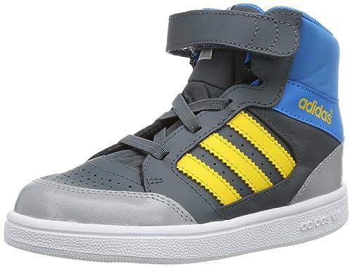 adidas Pro Play CF I-9, Botines Unisex, para ni&ntildeos, Azul-
