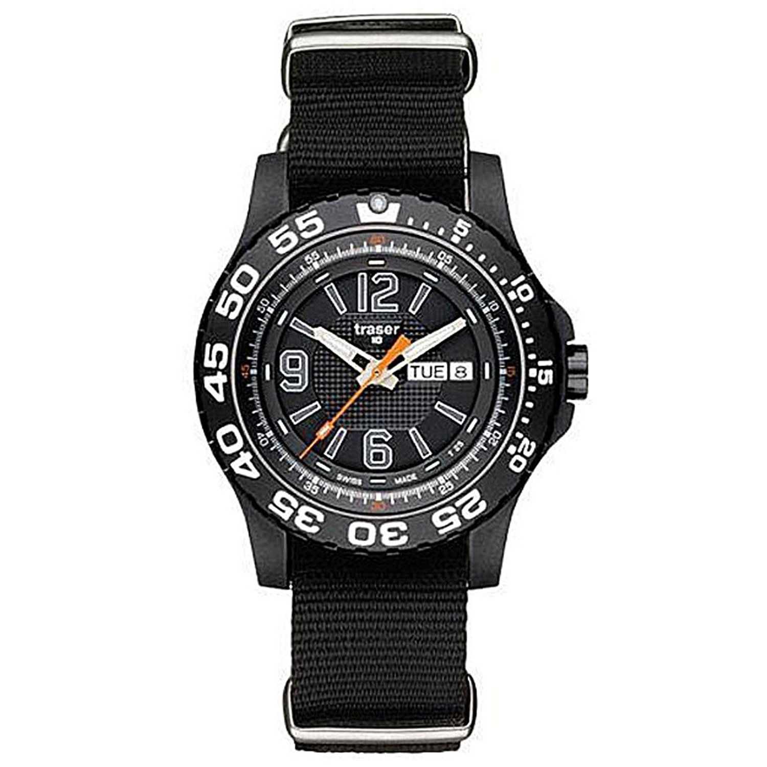 086eb5da382f Amazon.com: Traser P6600 Extreme Sport Watch on NATO Strap P6600.41F.0S.01:  Watches