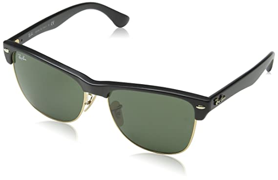 763be9c5f0 Amazon.com: Ray-Ban Clubmaster Oversized Sunglasse, RB4175 877 ...