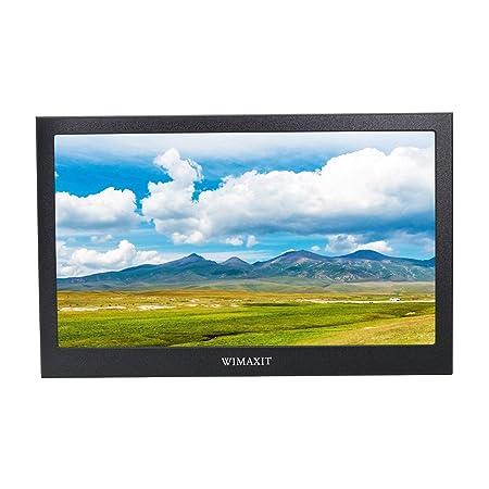 WIMAXIT 13.3 Zoll IPS 1920X1080 16: 9 Display Aluminium Gehäuse HDMI Monitor Bildschirm Spiel Monitor für PS3 / PS4 / X box /