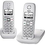 Gigaset E310 Duo Téléphone sans fil 2 combinés Blanc