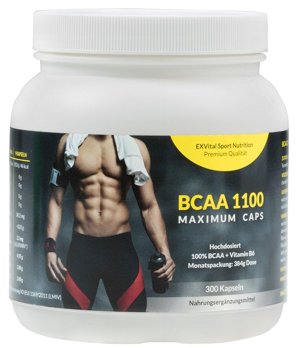 Exvital BCAA 1100 Maximum Caps