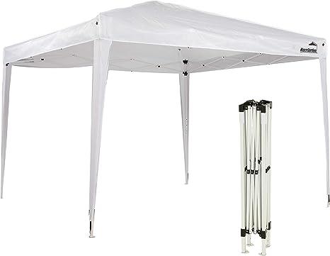 MaxxGarden - Cenador impermeable (3 x 3 m, incluye bolsa, protección UV 50+), color blanco