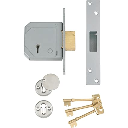 Union Locks avanzada XP3G114E 5 puntos cerradura empotrable C-Series 67 mm latón [unidades