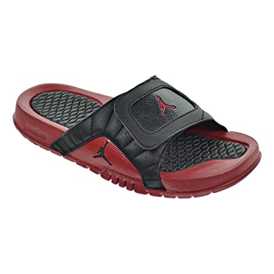 Jordan Hydro XII Retro BG Big Kid s Sandals Black Gym Red 820267-001 ( 7d26d9bb3