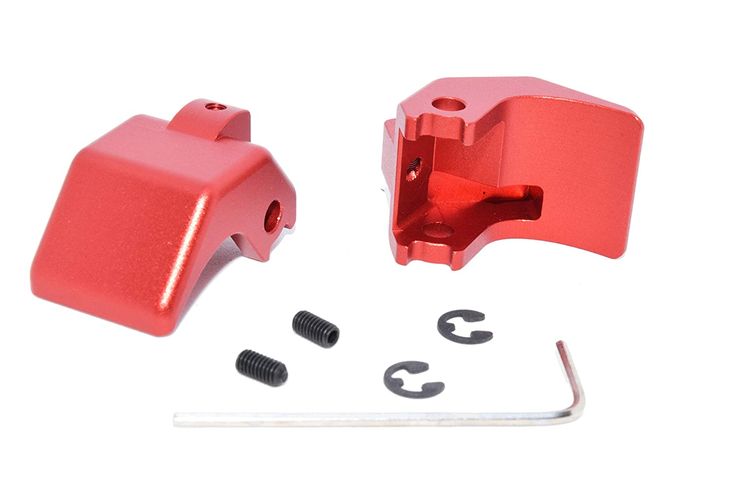 Billet Aluminum Mazda Miata convertible soft top roof latch rebuild kit Anodized Red