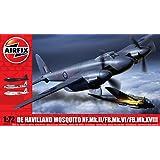 Airfix - Kit de modelismo, avión Mosquito FBVI/ NF II/Mk XVIII, 1:72 (Hornby A03019)