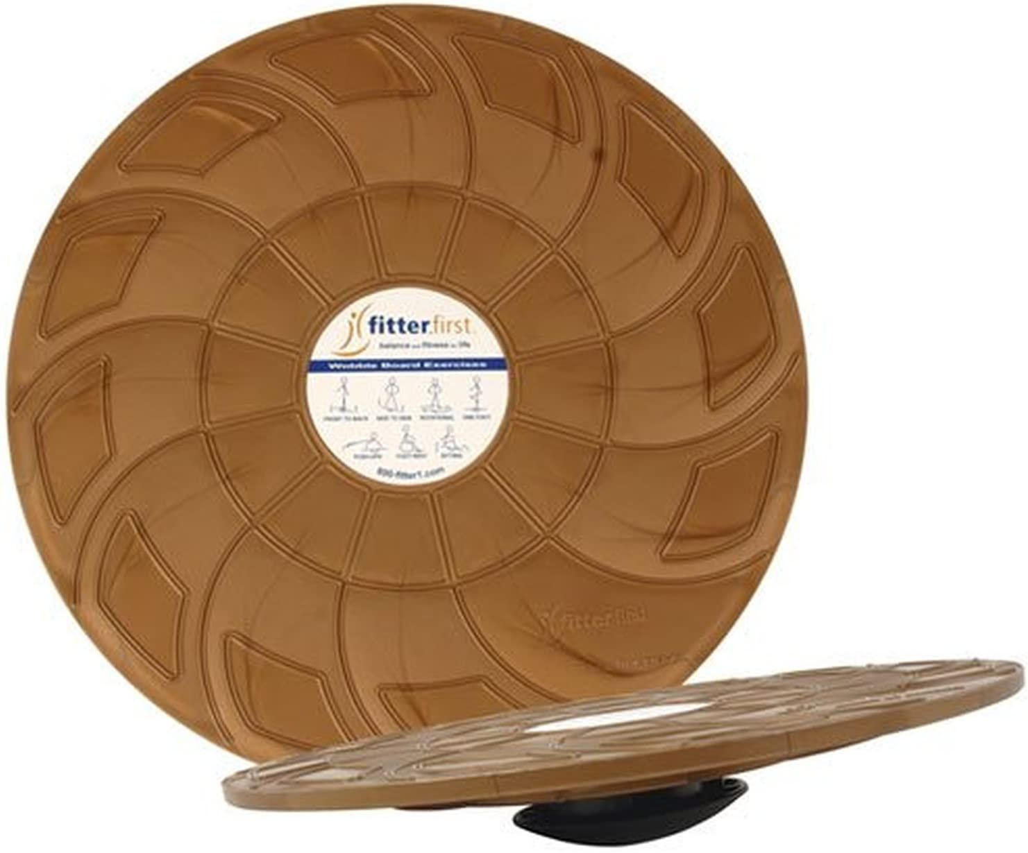 Fitter Classic 16in Wobble Board : Sports & Outdoors