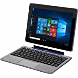 "Nextbook Flexx 9 Touchscreen 8.9"" Intel Quad Core 2-in-1 Tablet 32GB with Detachable Keyboard Windows 10 - Blue"