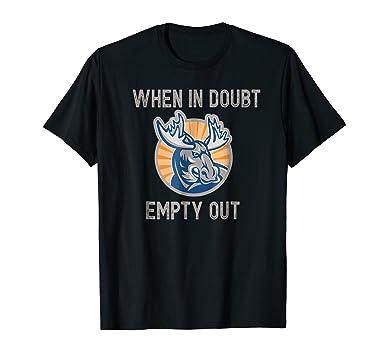 amazon com funny moose hunter t shirt cool hunting bull gift idea