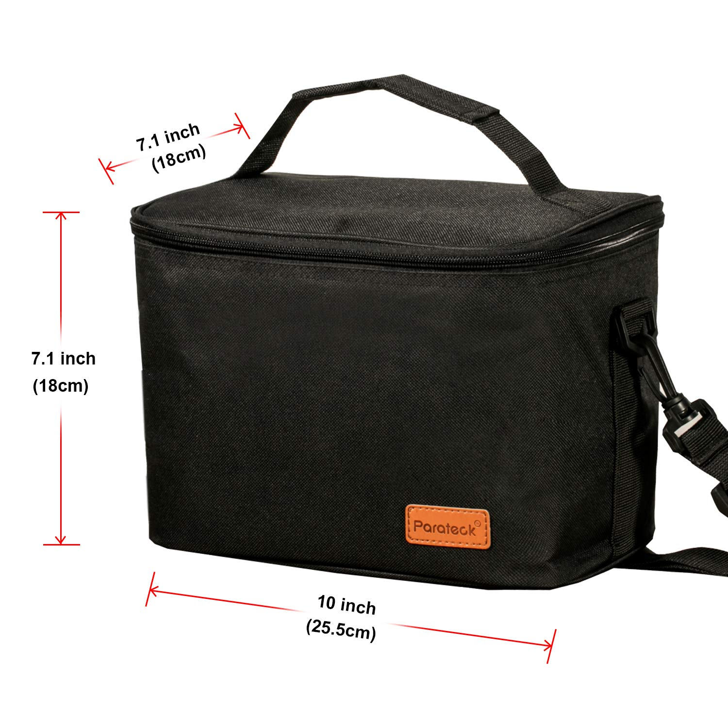 Insulated Lunch Bag Thermal Cooler Lunch Box Picnic Storage Carry Pack Kid Adult