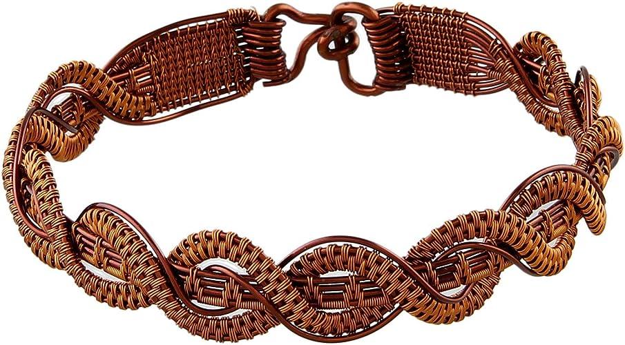 Muren Copper Rural artisans Necklace for Girls and Women