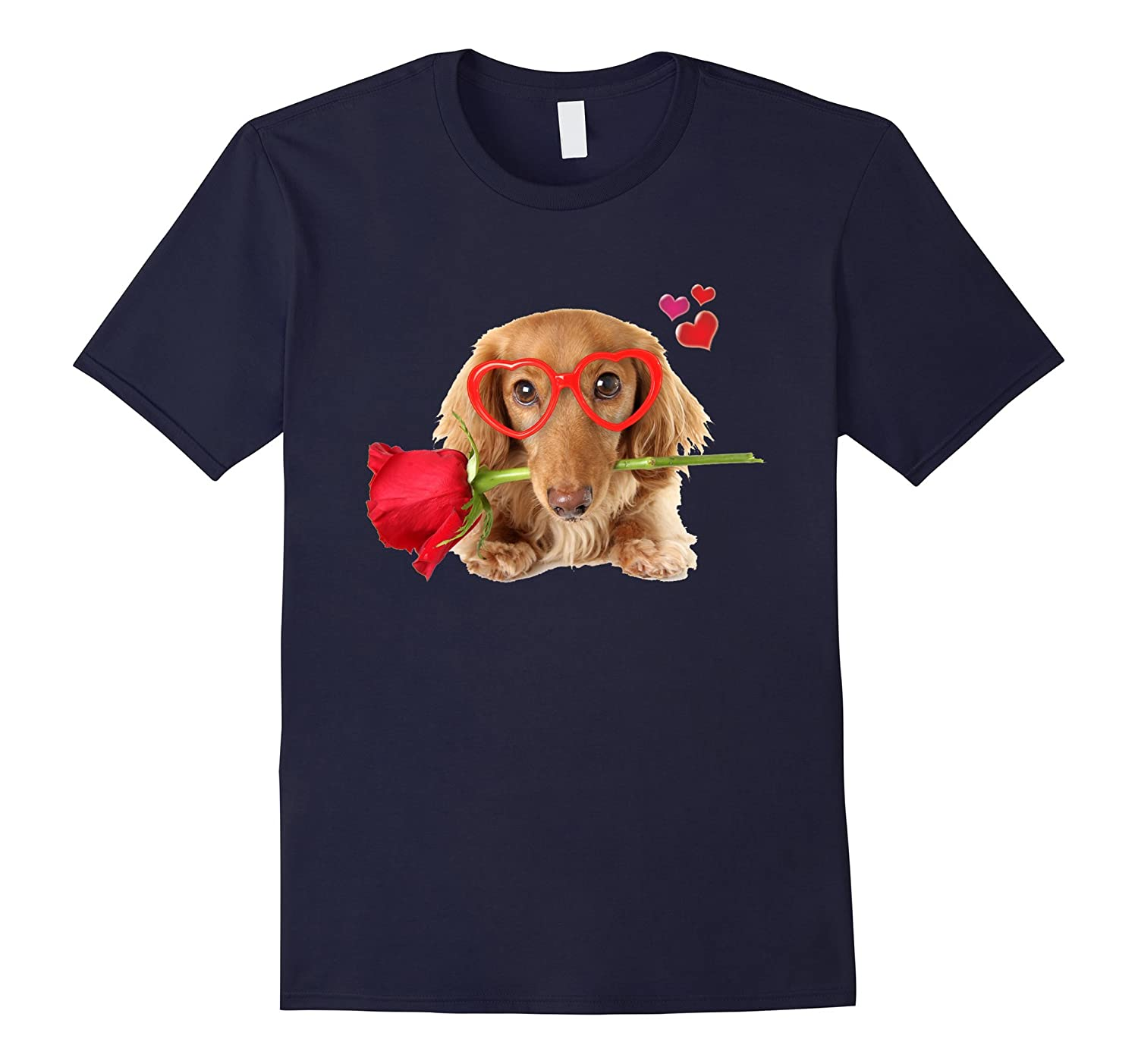 Dog and Rose T-Shirt-CD
