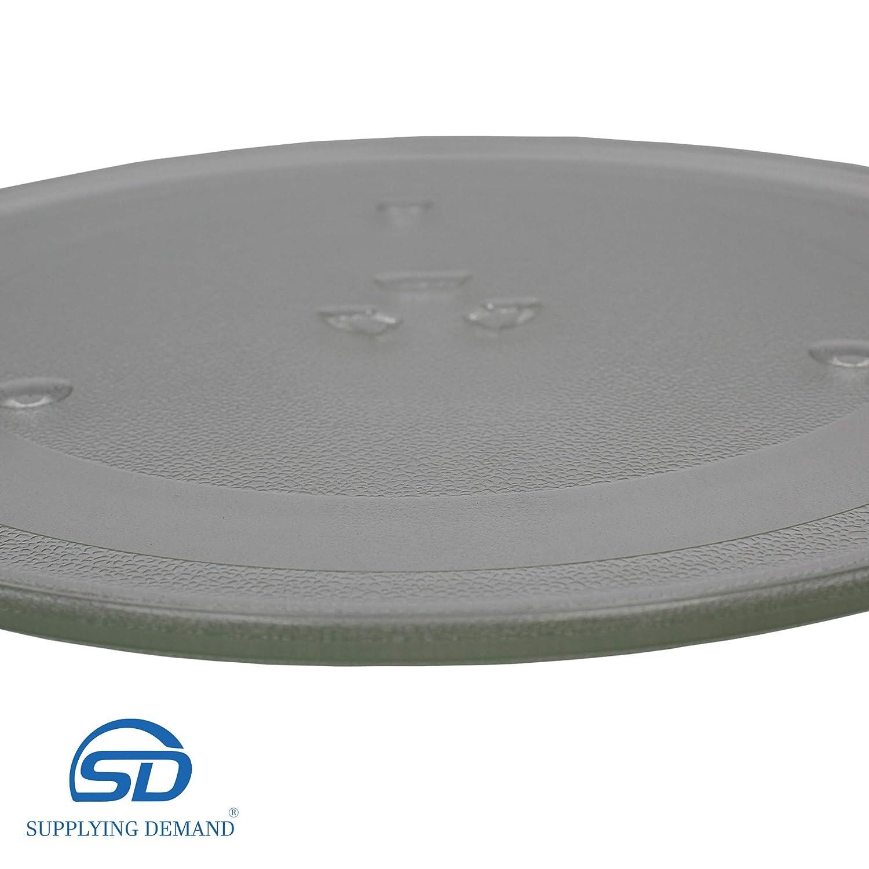 Supplying Demand DE74-20015B Microwave Glass 12.5 Inch Plate Tray DE74-20015B DE74-20015A