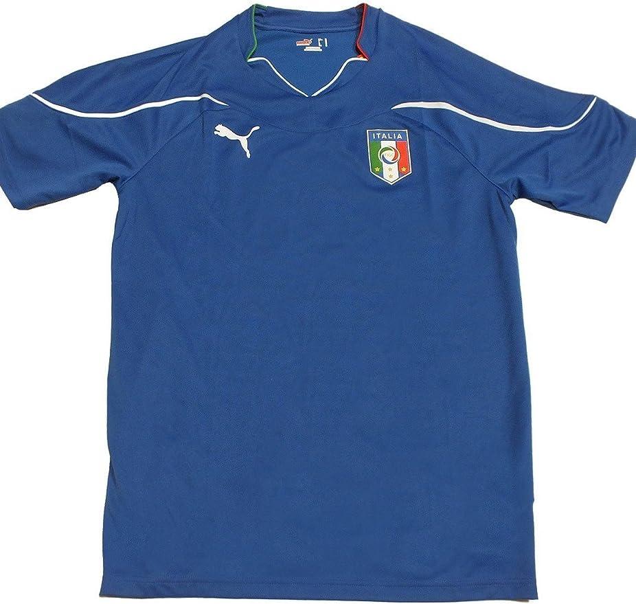 Puma FIGC Italia - Camiseta de fútbol para hombre: Amazon.es: Deportes y aire libre