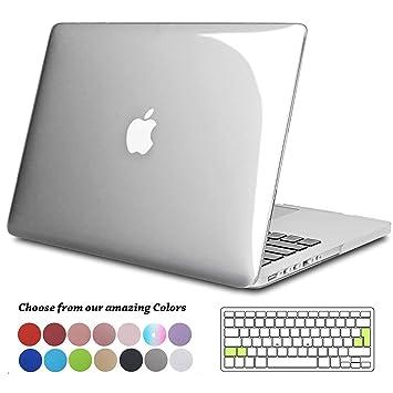 Tecool Funda para MacBook Pro 15 Pulgadas con Retina Display, Plástico Dura Case Carcasa con Tapa del Teclado para 2013-2015 MacBook Pro 15 Retina ...