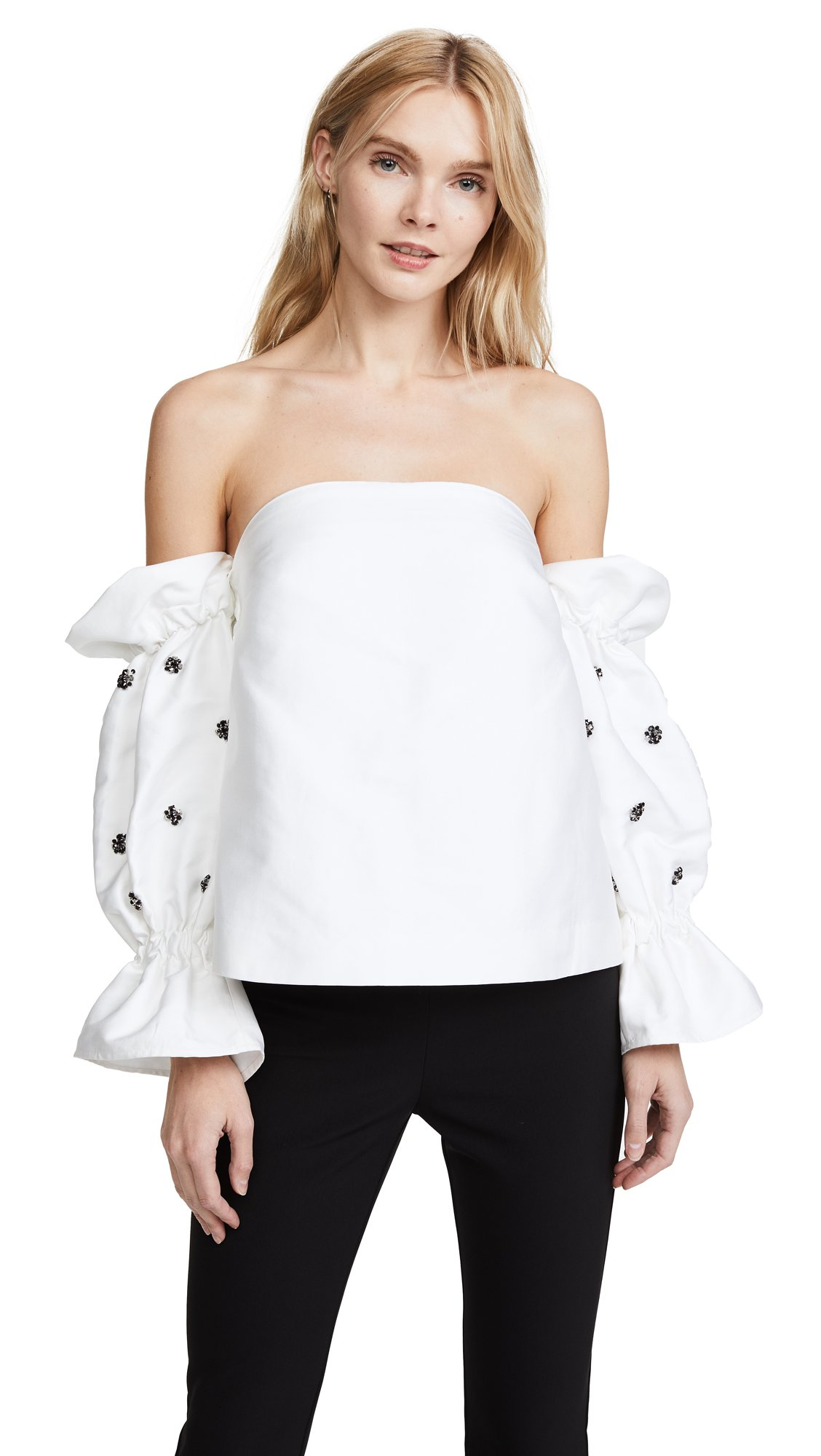 C/Meo Collective Women's Assemble Top, Ivory, Small