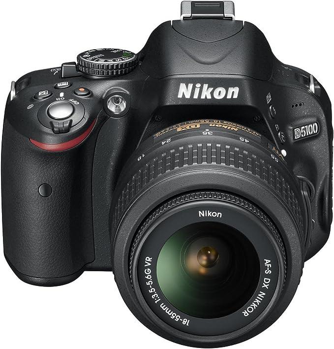 Nikon D5100 - Cámara réflex digital de 16.2 Mp (pantalla ...