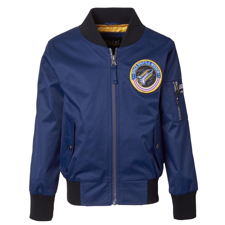 iXtreme Boys Flight Bomber Jacket With Polar Fleece Lining