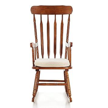 My Living Sam Chaise Bascule Bois Beige Simple 78 X 56 108 Cm