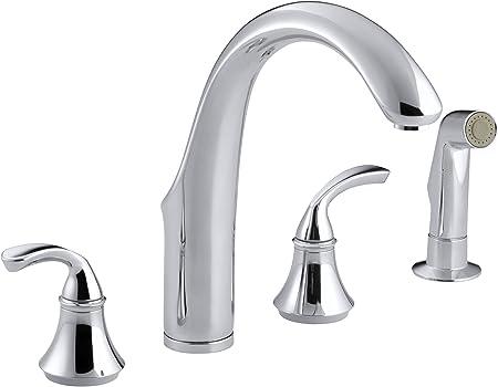 KOHLER 10445-CP Forté(R) 4-Hole Sink 7-3/4\