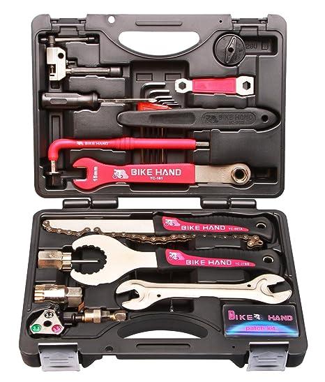 Bike Hand - Caja de herramientas para bicicleta, 25 piezas: Amazon ...