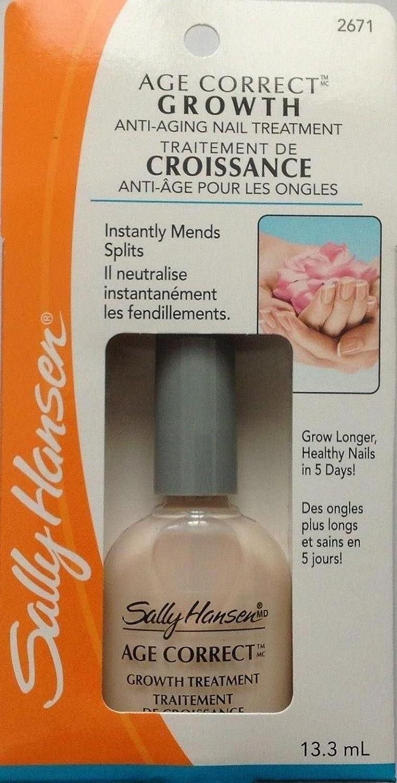 Sally Hansen Age Correct Growth Treatment 0.45 fl oz : Nail Growth Formula Treatments : Beauty