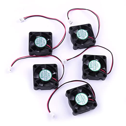 ATOPLEE 5 x Mini 12V 30X30X10mm Ventilador de refrigeración para ...