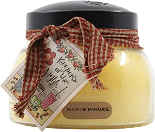 product image for A Cheerful Giver Yellow Slice of Paradise 22 Oz Mama Jar Candle, Multi