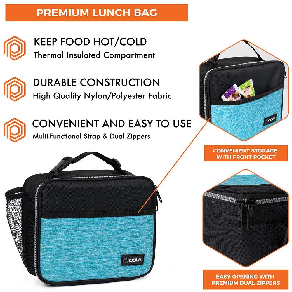 Amazon.com: OPUX Bolsa de almuerzo con aislamiento premium ...