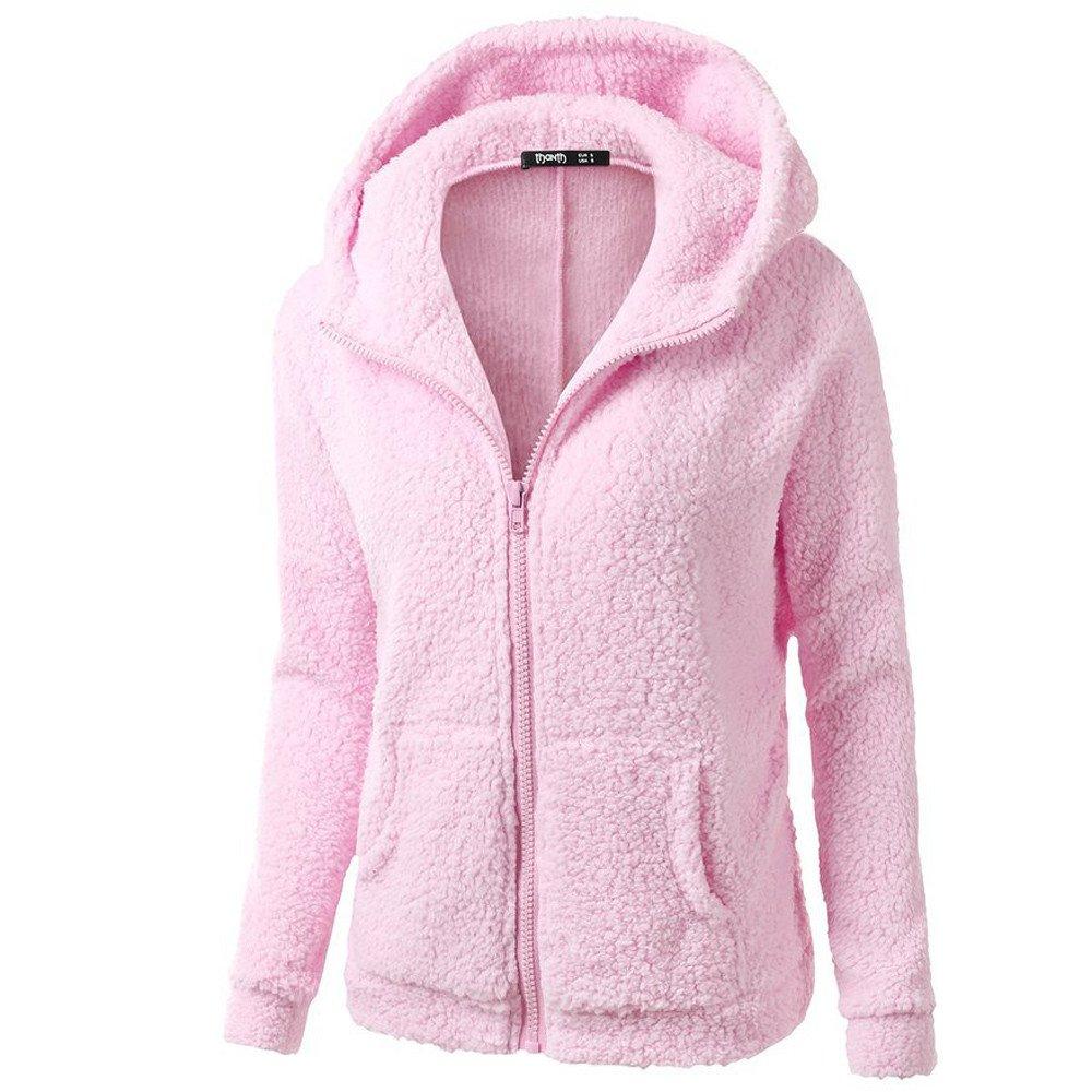 Blusa polar Collar mandarín de Mujer, LILICAT Ropa de abrigo Cuello de Cremallera Manga larga Invierno cálido