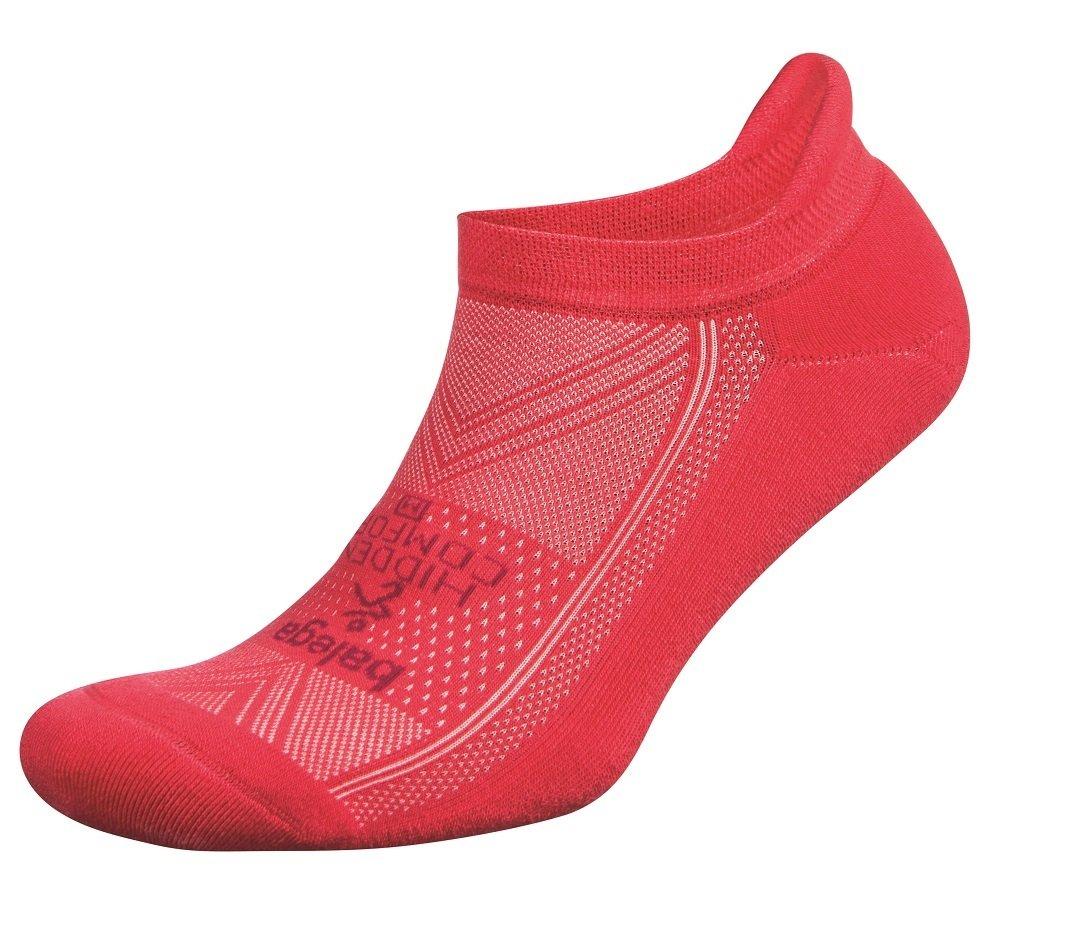Balega Hidden Comfort No-Show Running Socks for Men and Women (1 Pair), Camelia Rose, Medium