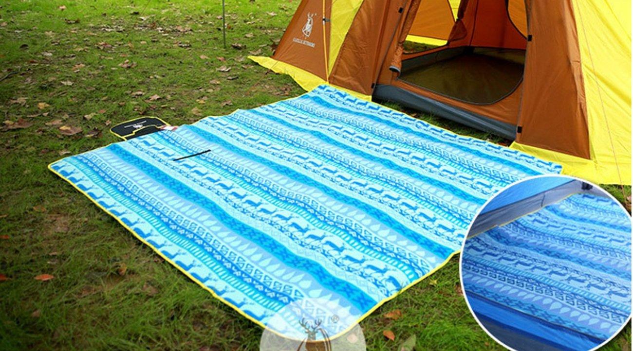 LHFJ Camping Matratze Matratze Matratze 200  200 cm FeuchtigkeitsBesteändig Pad für Outdoor Camping, Wandern Picknick, Park Freizeit B07CWRMQXD | Marke  c71020