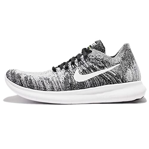 low priced 80192 a9ca4 Nike Wmns Free RN Flyknit 2017, Zapatillas de Trail Running para Mujer,  Negro (