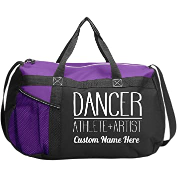 Personalised Name Gymnast Junior Dance Bag School Dance Girls Gymnastics Gym