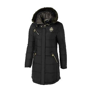 2e82c2796 Mountain Horse Cheval Womens Winter Coat black Size:S: Amazon.co.uk ...