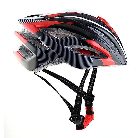 Amazon.com : eDealMax Brevetto autorizzato per adulti Unisex PC Shell 21 fori Caschetto di protezione di sicurezza regolabile in bicicletta Casco Della bici ...