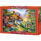 Castorland C-300402 - Forest Cottage Puzzle 3000 Piezas