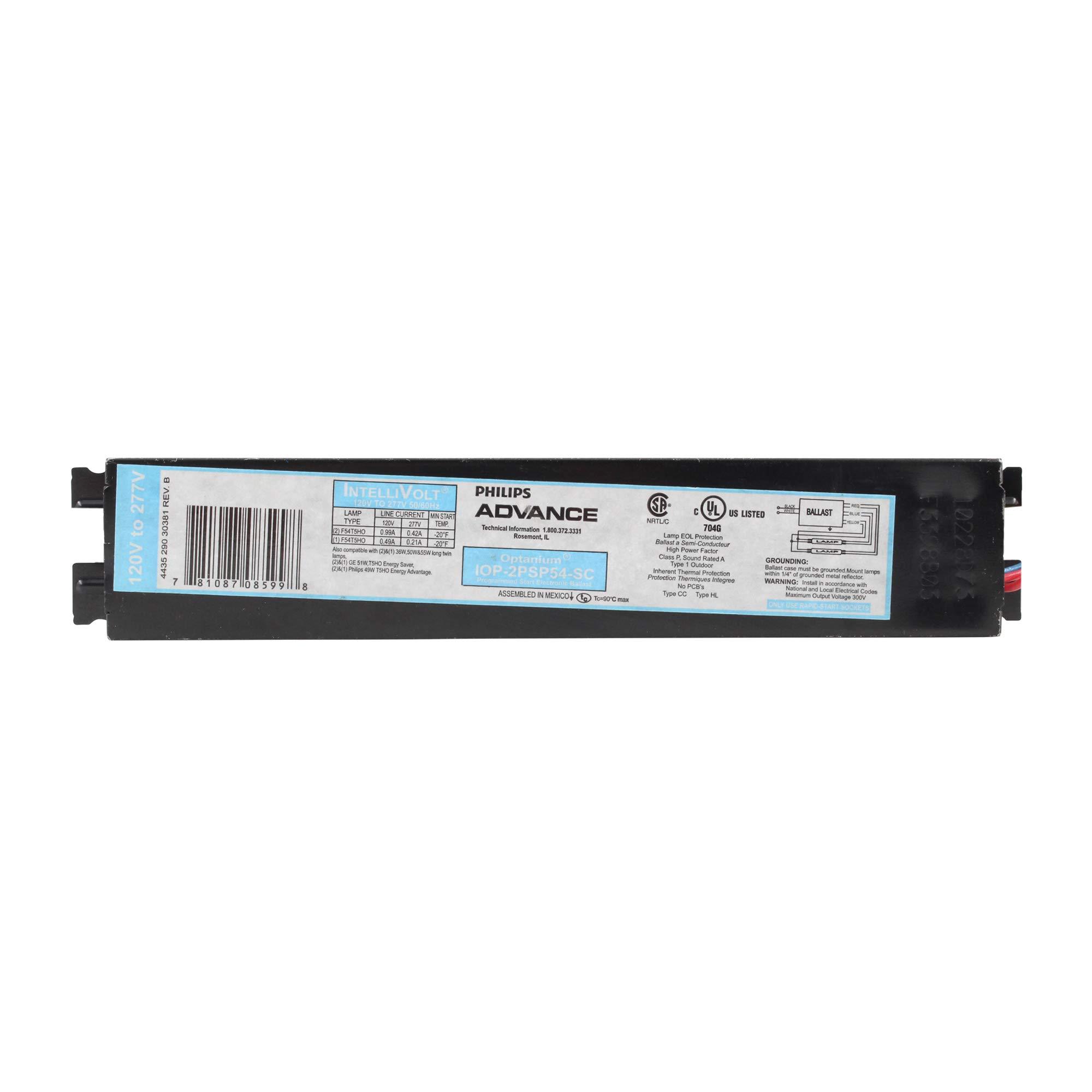 Advance IOP-3P32-SC Fluorescent Ballast, 3-Lamp, F32T8, 32W T8, 120V/277V