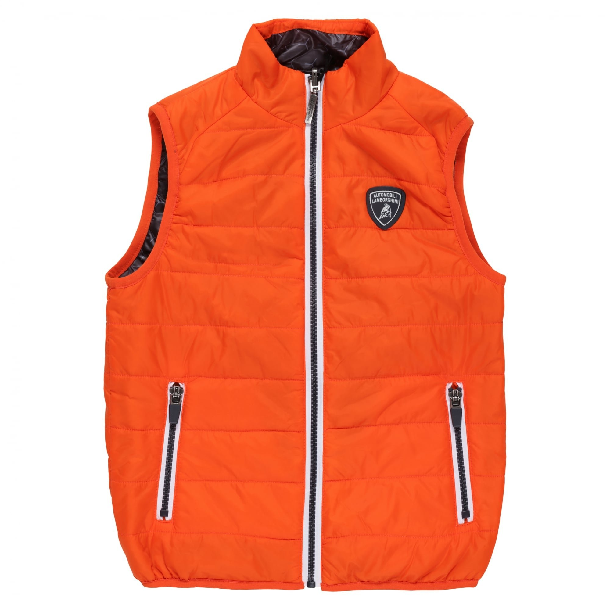 Lamborghini Kids Automobili Lamborghini Reversible Ultralight Down Vest 6 yrs Orange Orange