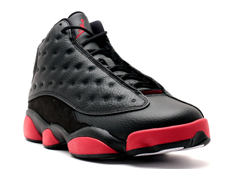 best sneakers 16827 081c6 ... get nike herren air jordan 13 retro turnschuhe schwarz 7.5black gym red  black sommerprogramme.