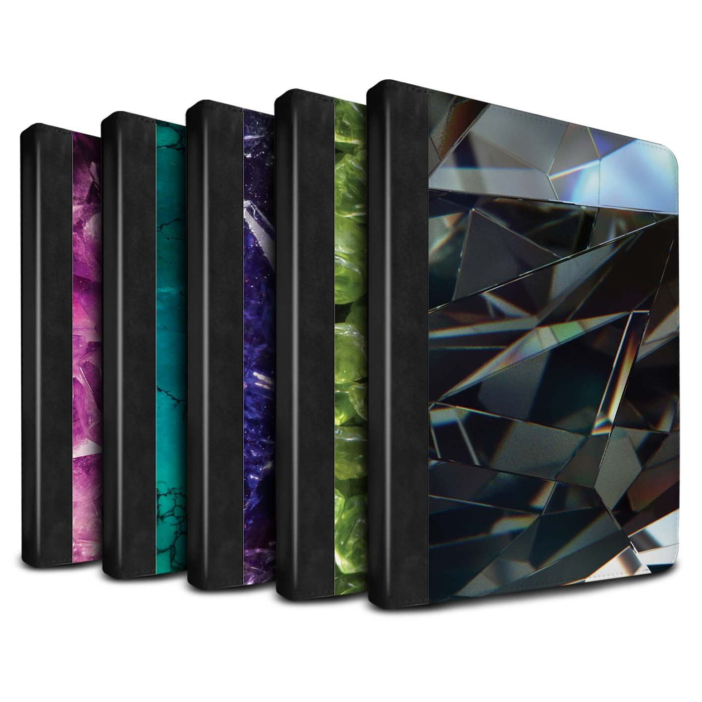 STUFF4 PU Leather Book/Cover Case for Apple iPad Air 2 tablets / Pack 19pcs Design / Birth/Gemstone Collection